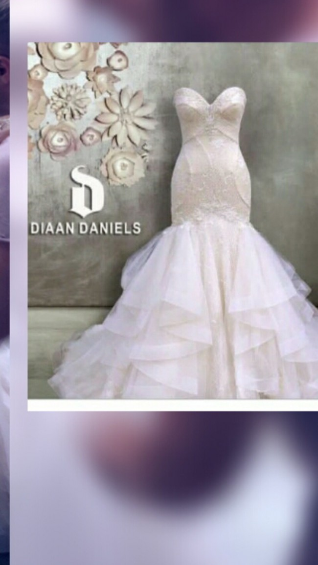Wedding dress Diaan Daniels