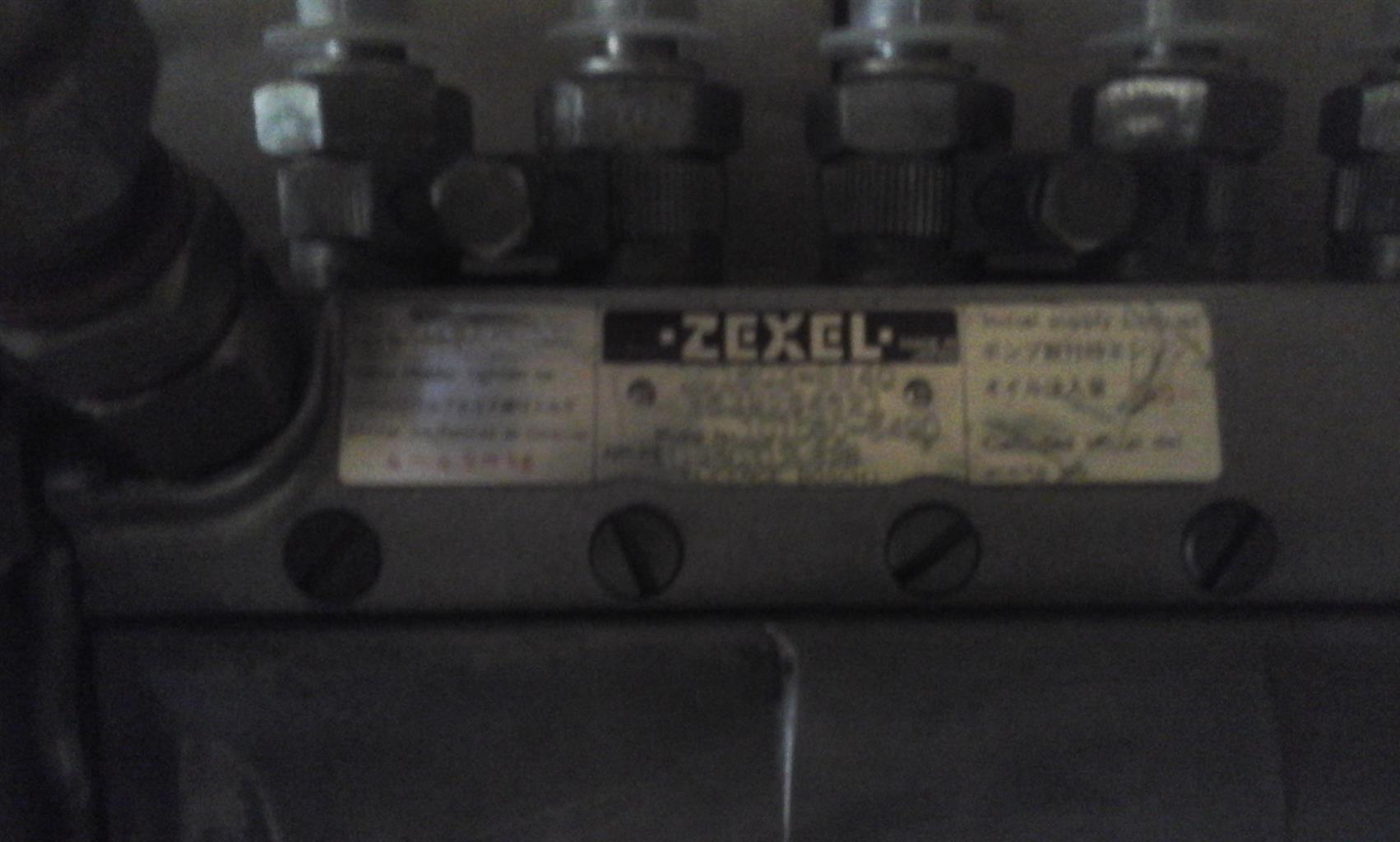 Zexcel diesel injector pump