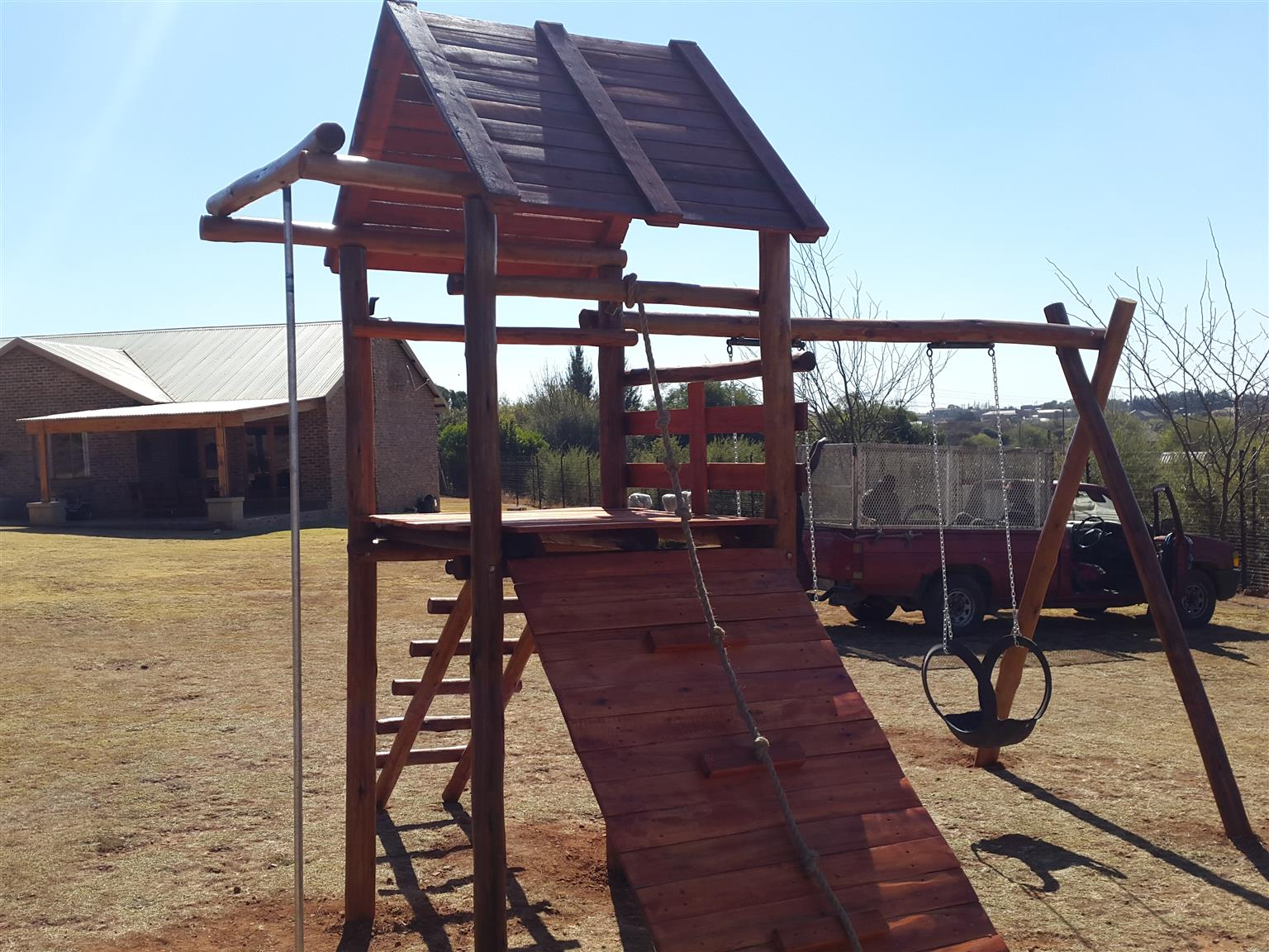 New jungle gym R4499.00 free installatin ex delivery