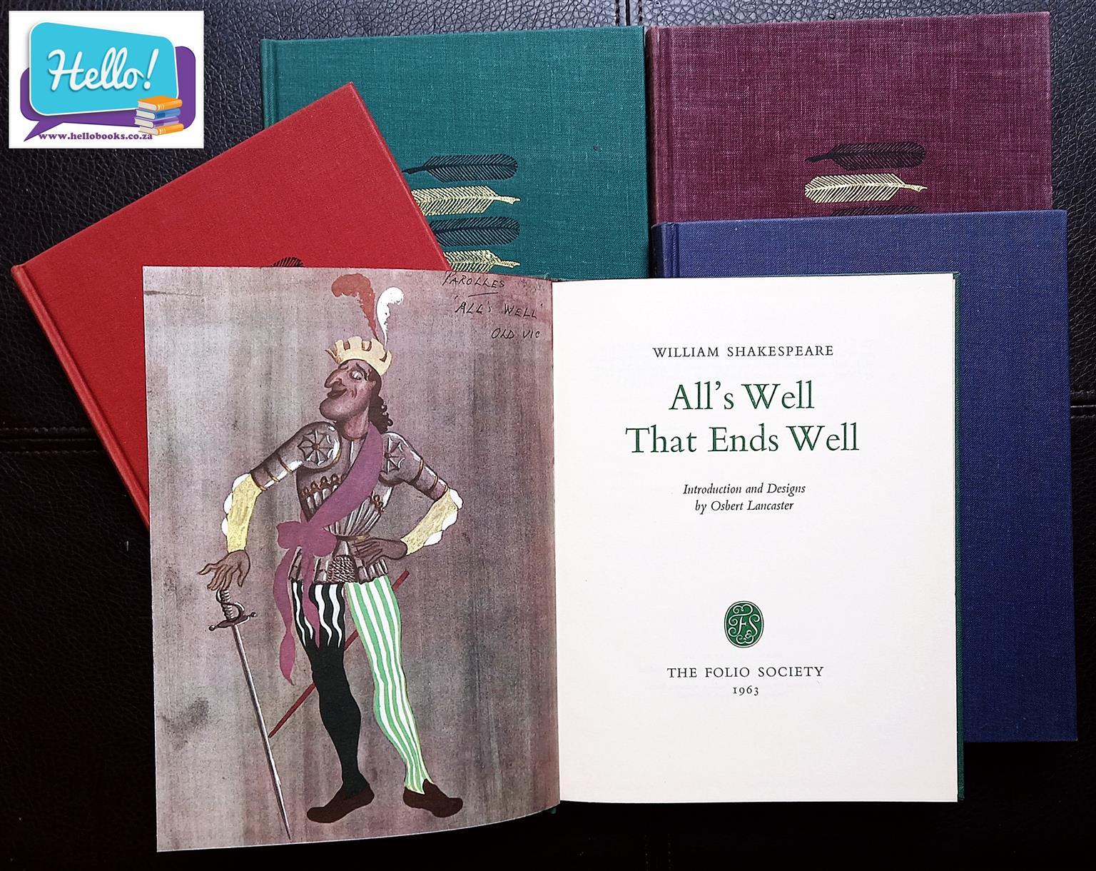 William Shakespeare The Folio Society