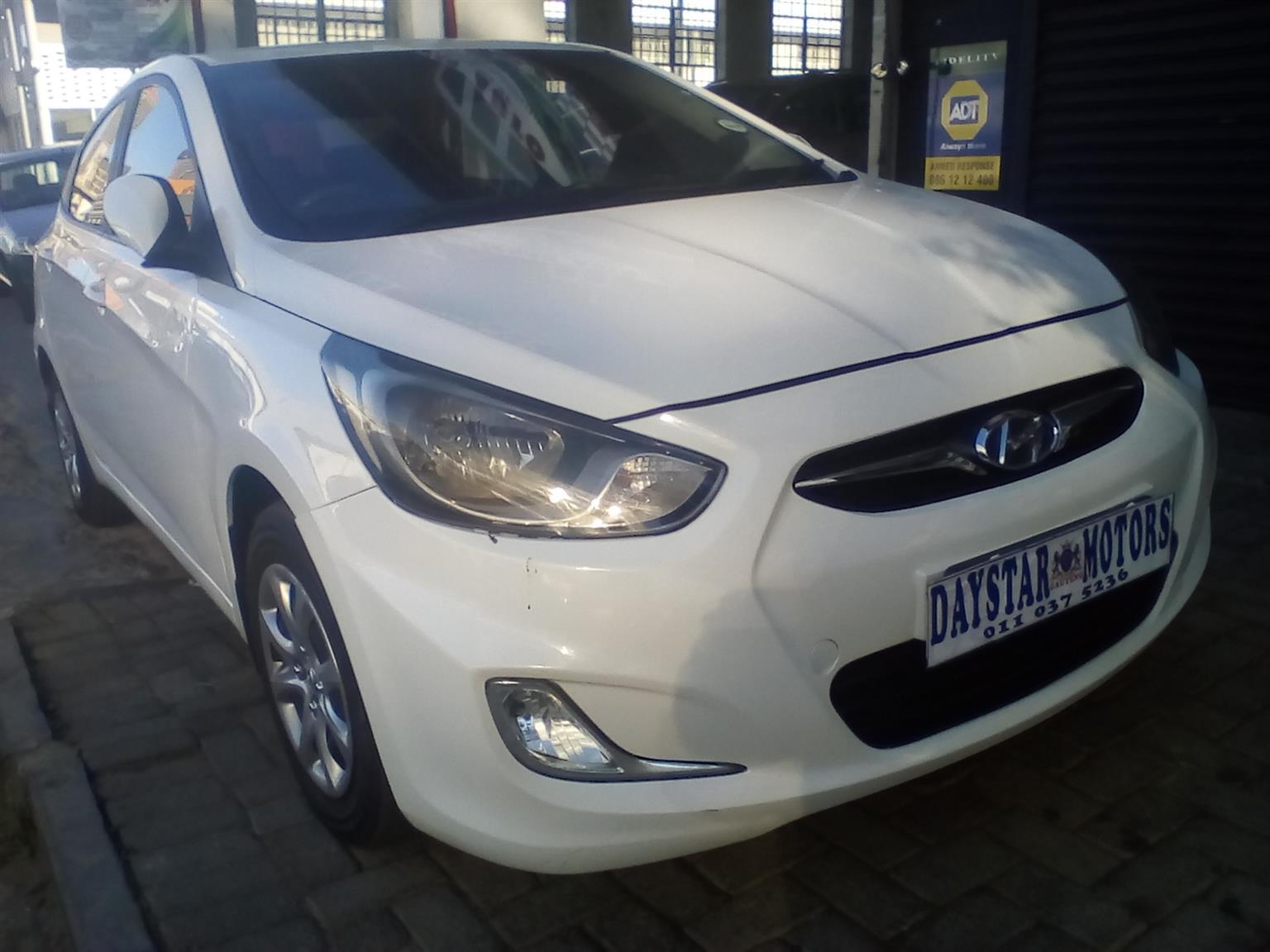 2013 Hyundai Accent Sedan 1.6 Motion