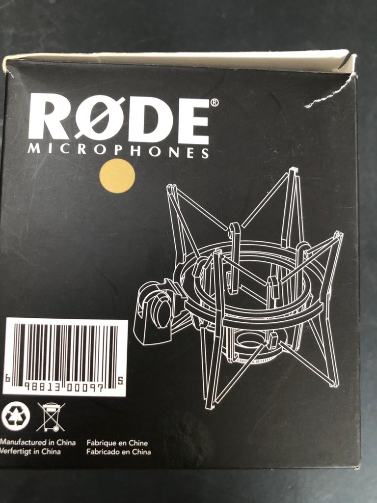 Rode PSM1 Microphone Shock Mount - as new condition