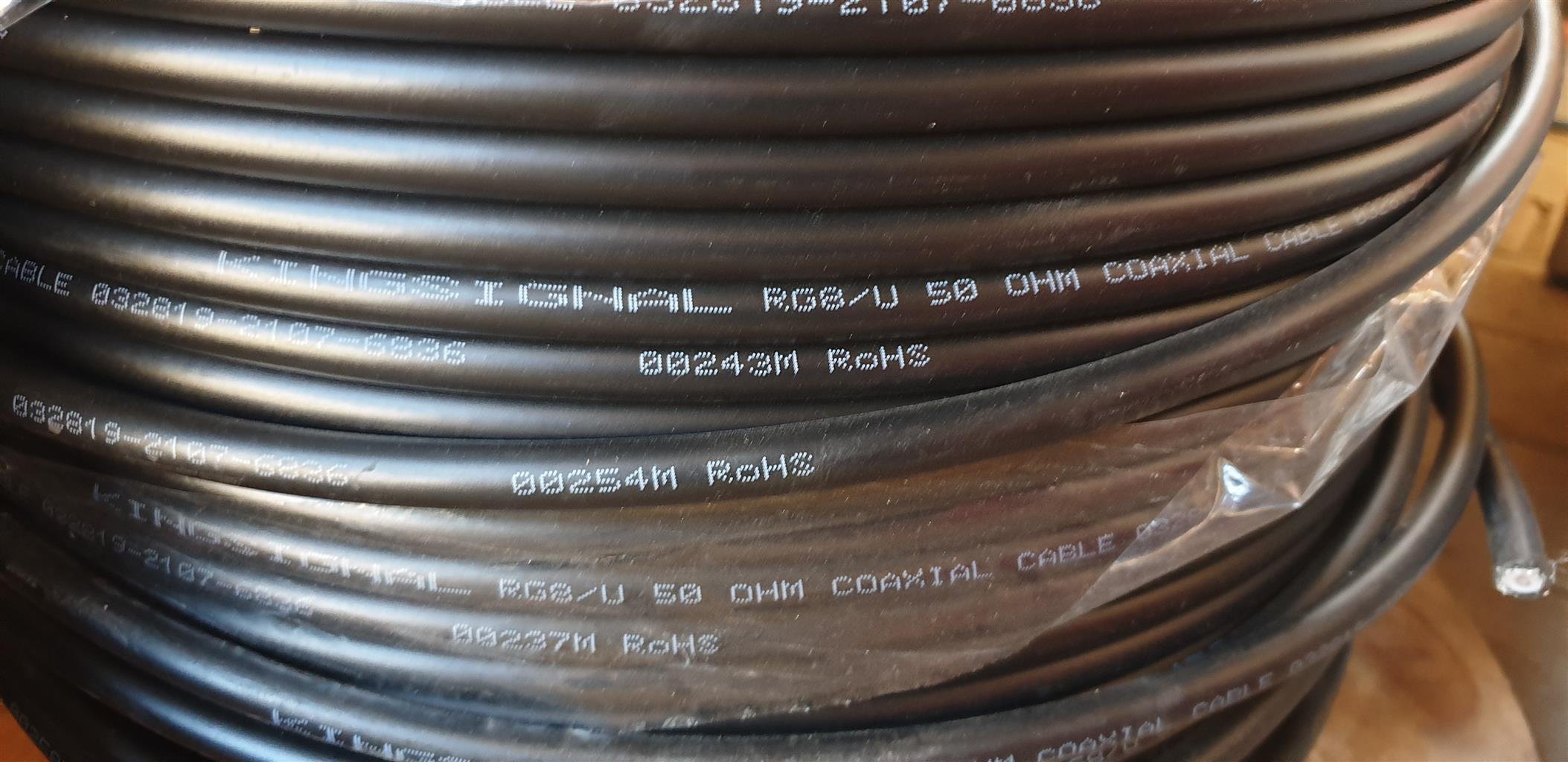 RG 8U coaxial cable for sale
