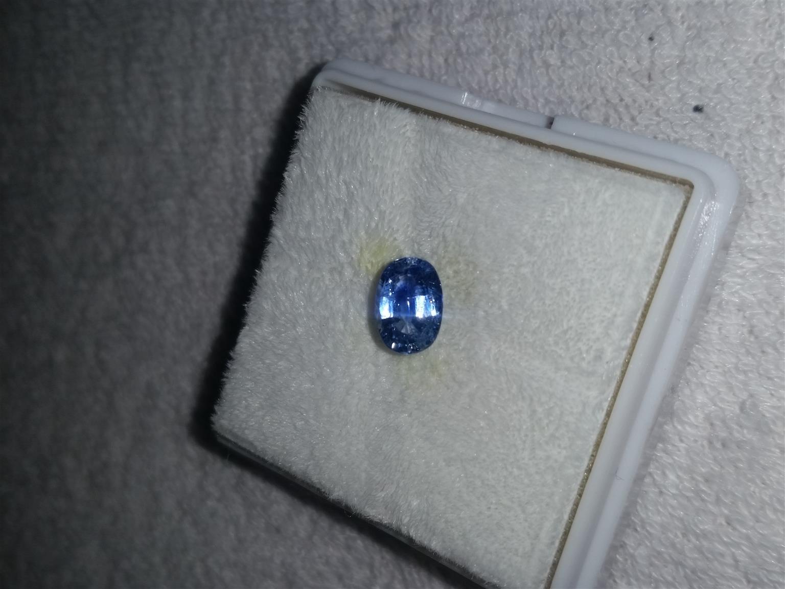 Beautiful sapphire!