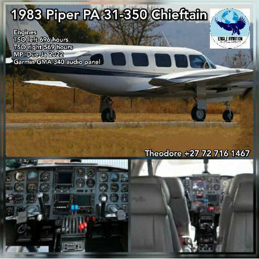 1983 PIPER PA 31-350 CHIEFTAIN