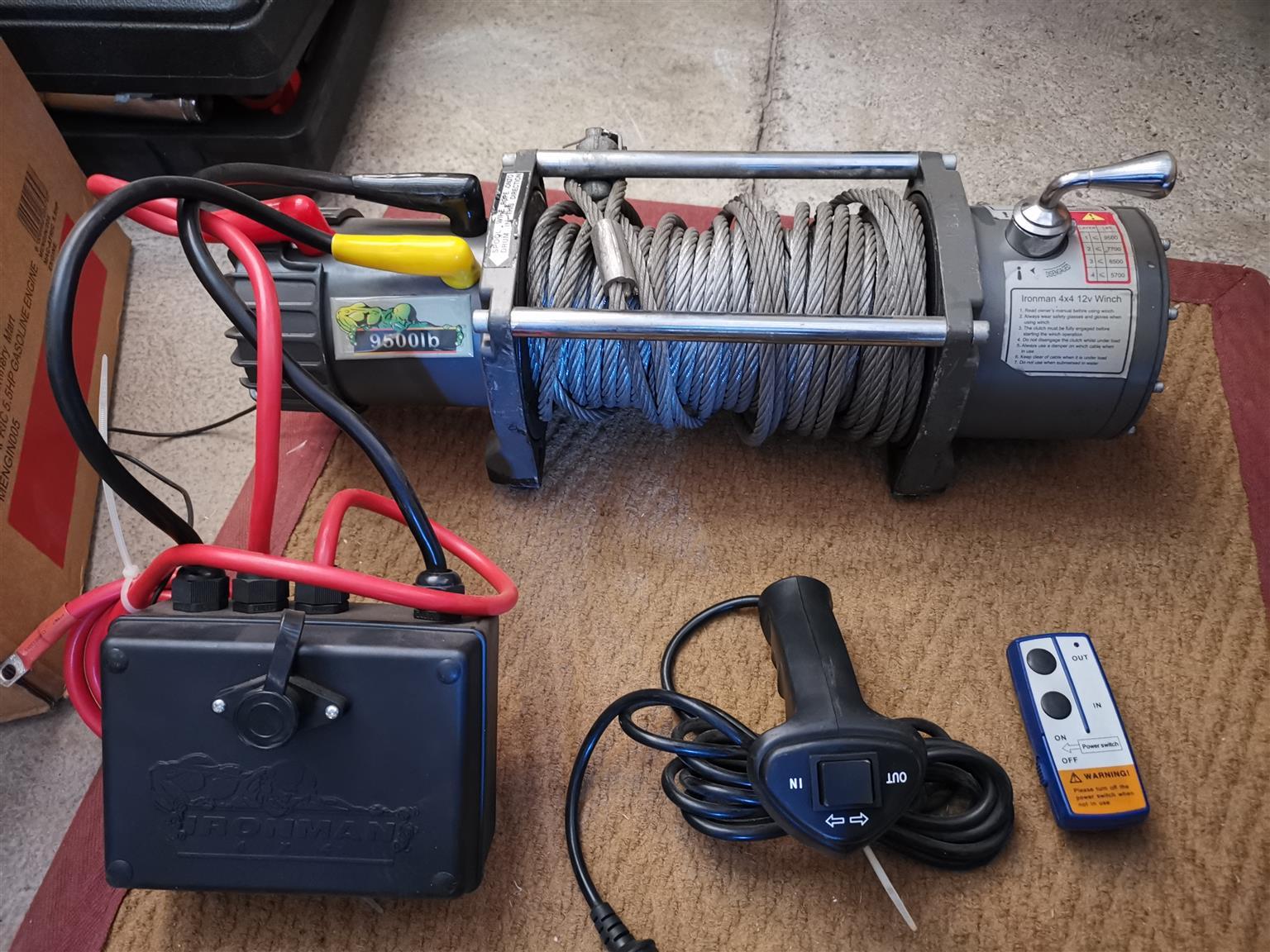 Ironman Winch Control Box Wiring Diagram