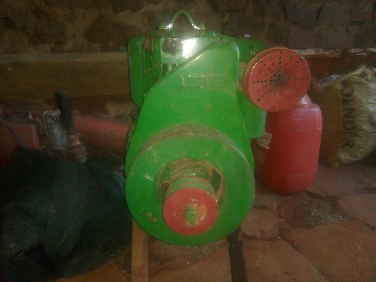Lister Diesel Motor