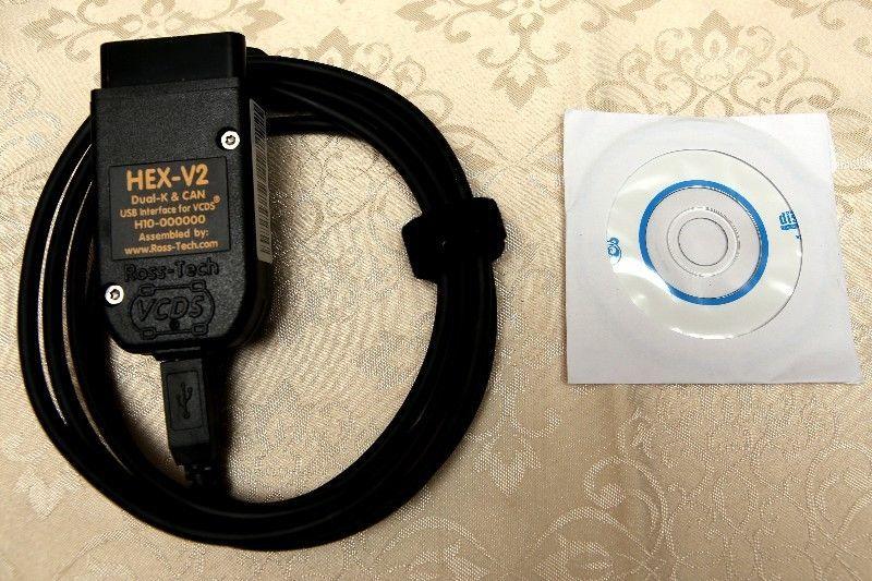 VW, AUDI, SEAT VCDS HEX-V2 20.4.0 Diagnostic cables