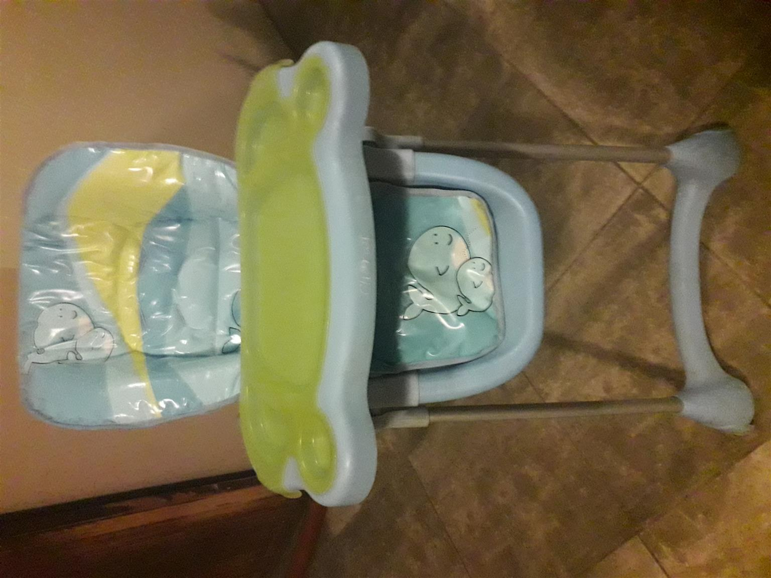 Baby Car chair and highchair combo