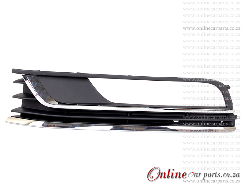 VW Passat MK 8 Left Hand Side Front Bumper Grille and CP Moulding P3 2011-