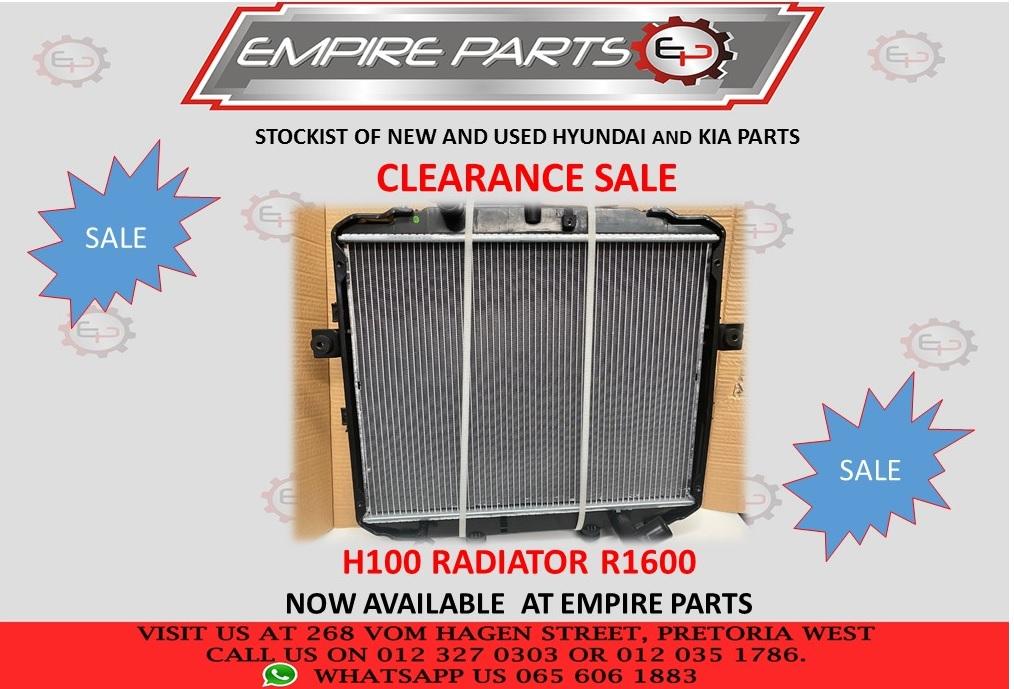 CLEARANCE SALE H100 RADIATOR