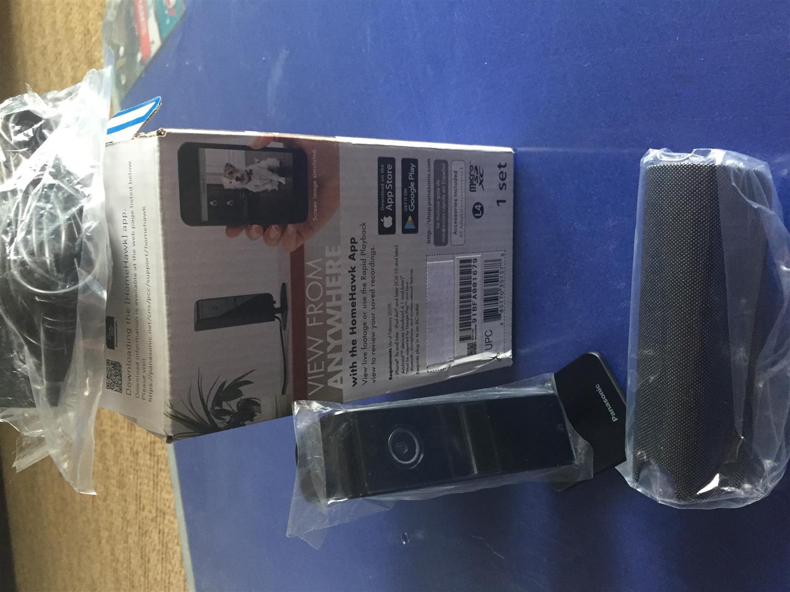 Brand new Panasonic mini Home Monitoring Camera KX-HNC810
