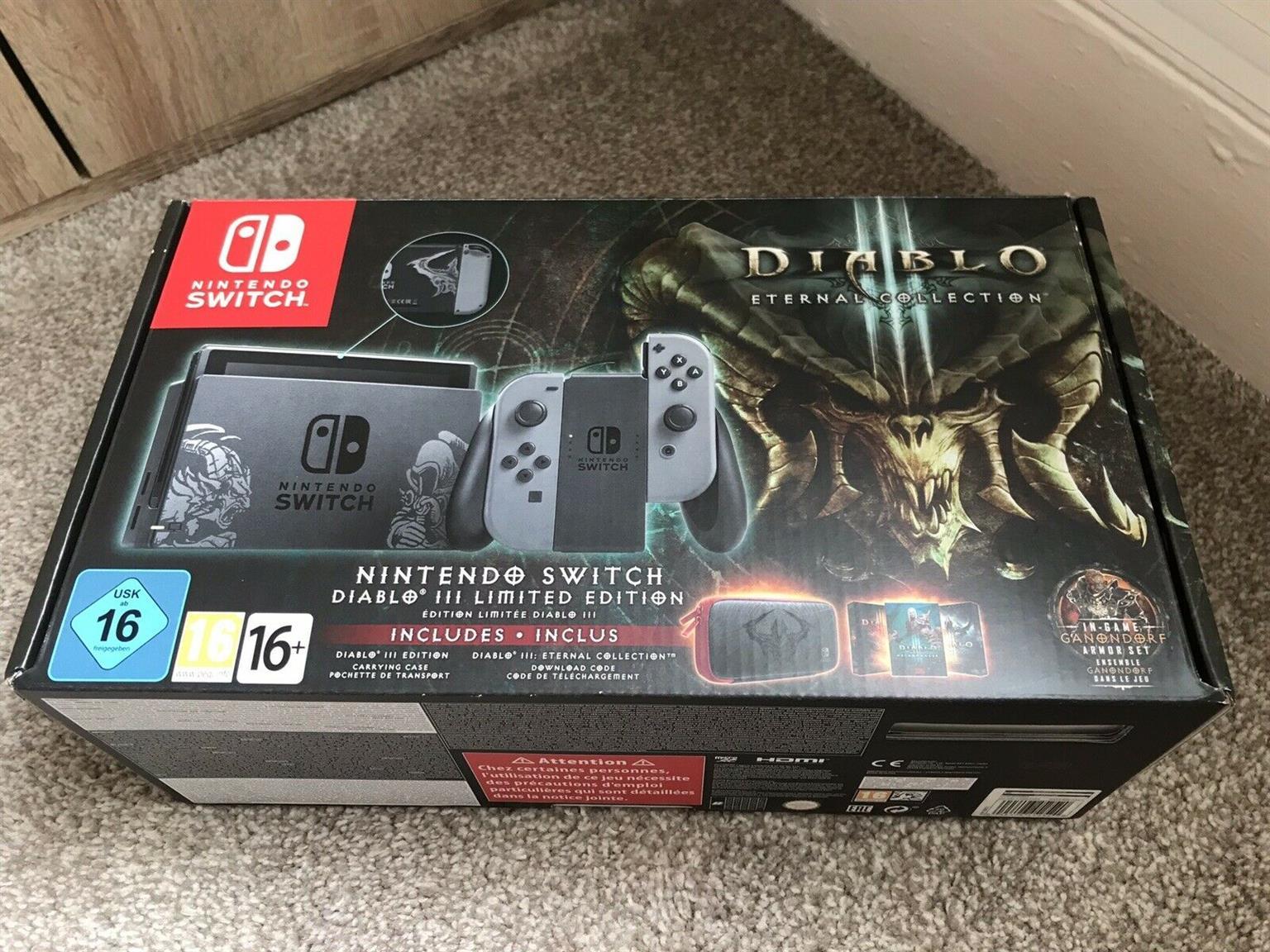 Ramadan price down mint brand new Nintendo Switch Diablo 3 Eternal Collection  LTD Edition Bundle