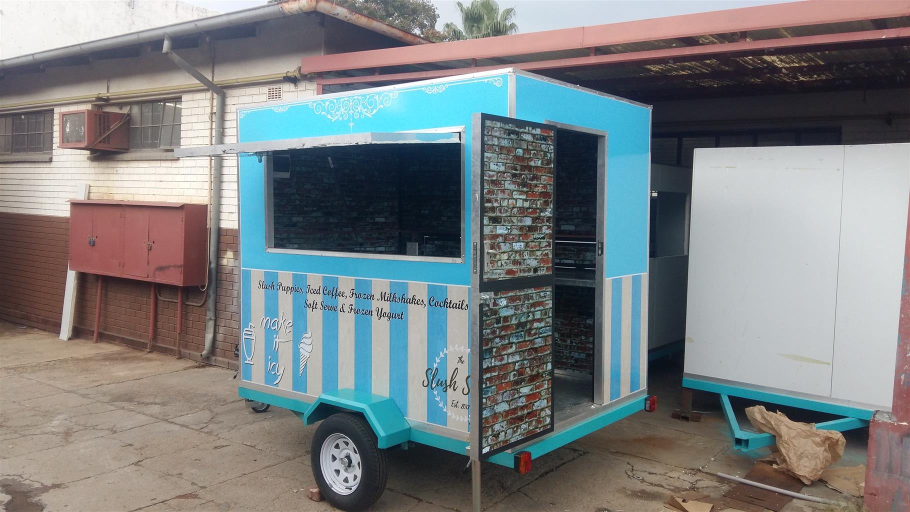 Mobile Kitchen pop up restaurant trailers for sale
