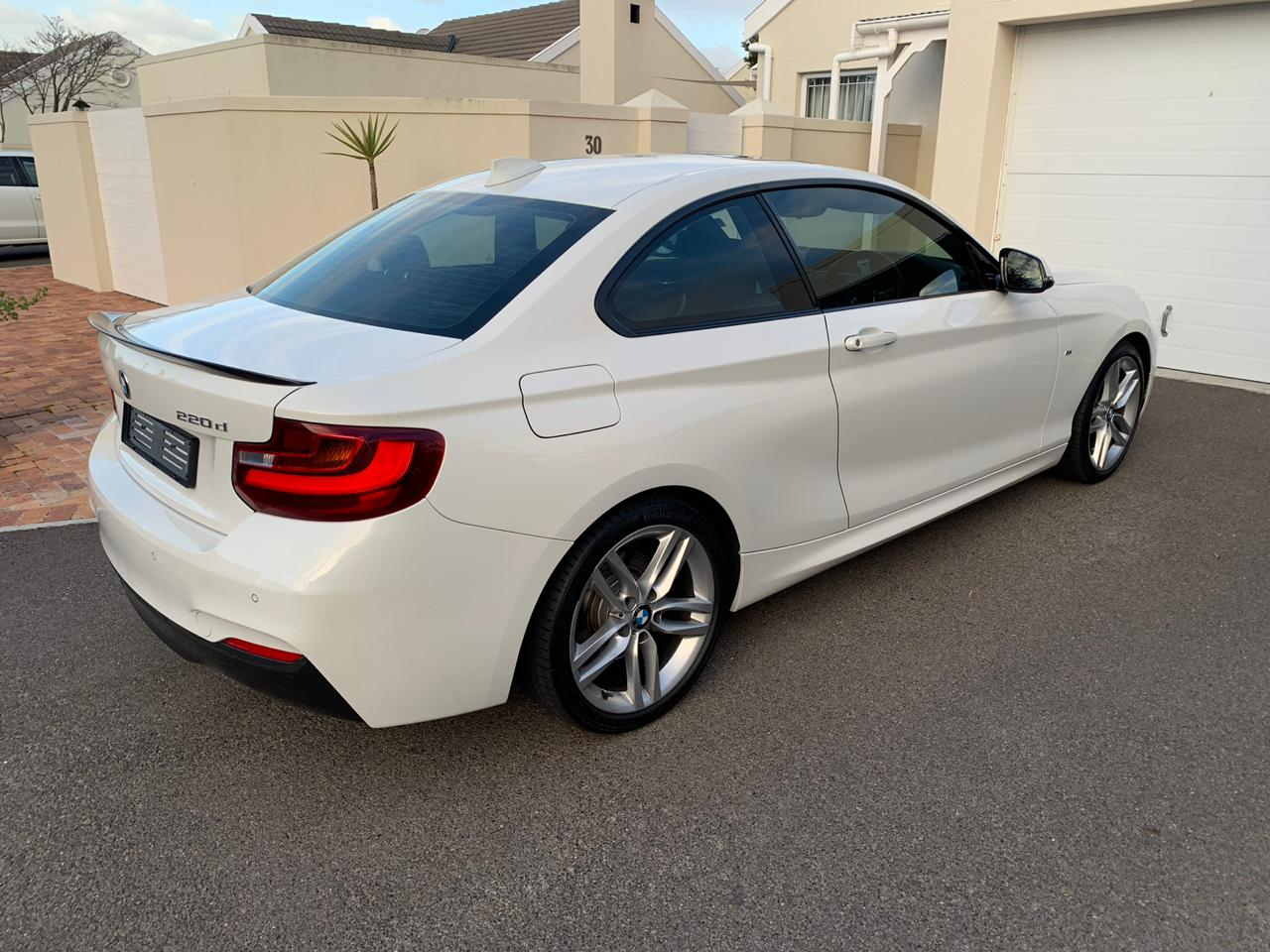 2015 BMW 2 Series coupe 220d M SPORT A/T(F22)