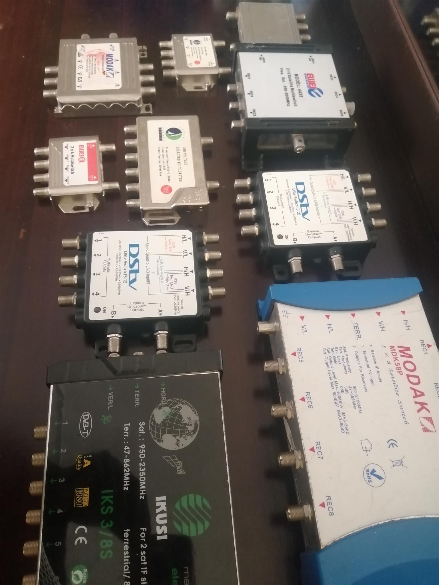 LNB Multi switch Diplexer
