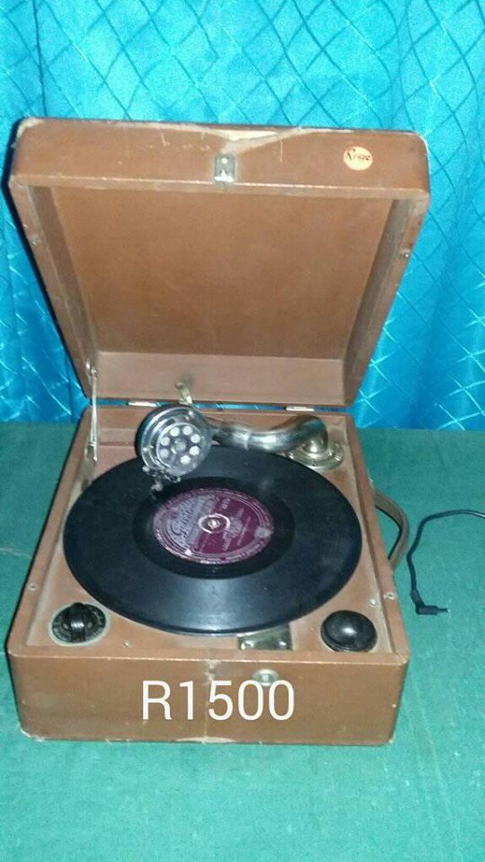 Old record player for sale