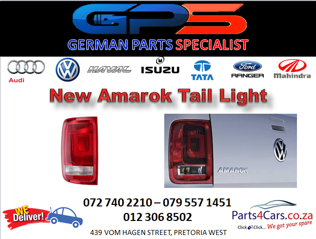 Special on VW Amarok Tail Light 2010 for Sale