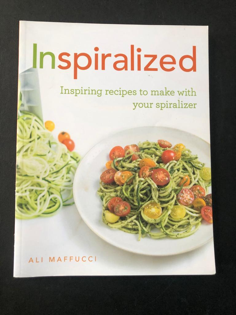 Book-Inspiralized: Inspiring recipes to make with your spiralizer by Ali Maffucci