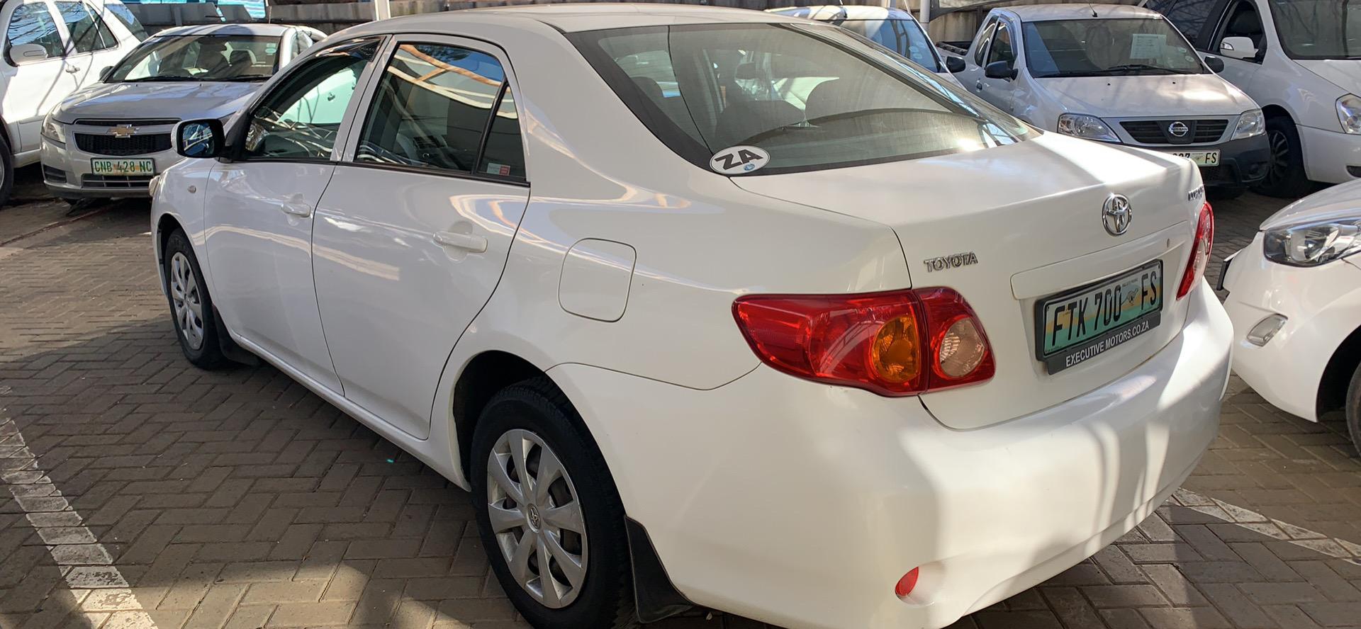 2009 Toyota Corolla 1.3 Professional