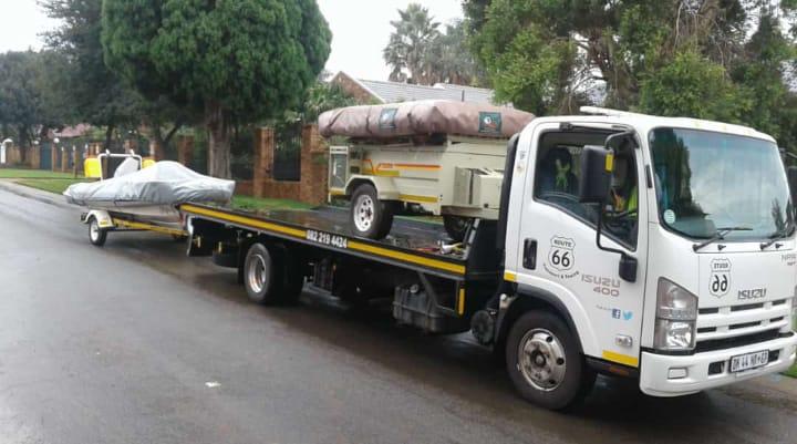 Gauteng-Cape Town. Boat & Trailer Transport.