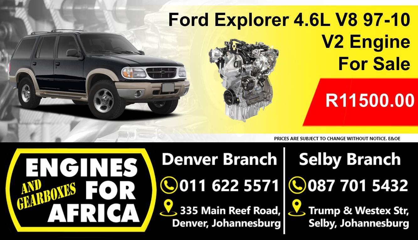 Used Ford 4 6l Explorer V8 97 10 Engine For Sale