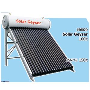 Geyser : Solar