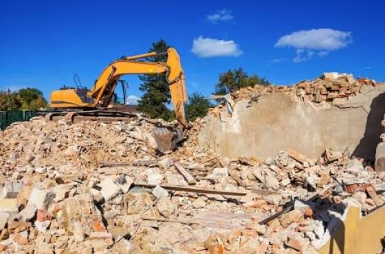 demolitions  , waste removers