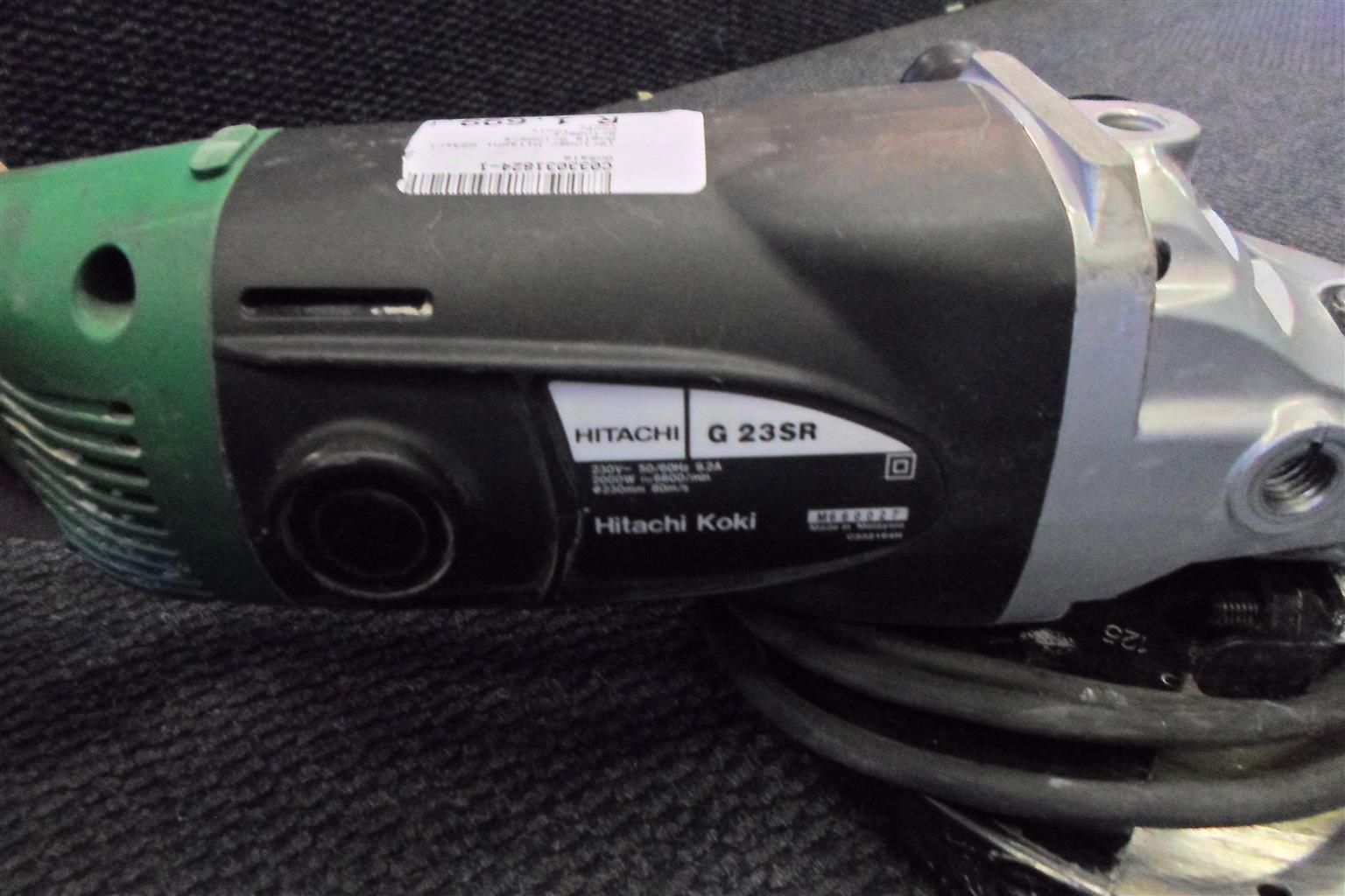 2000W G 23SR Hitachi Angle Grinder C033031824-1