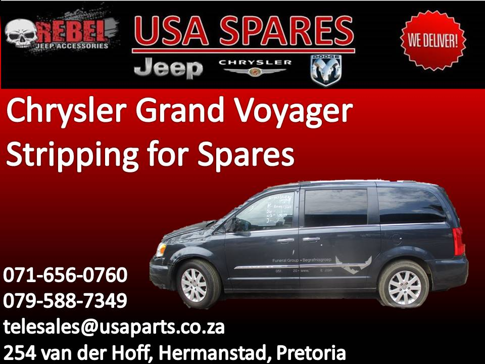 Chrysler Grand Voyager Stripping for Spares.