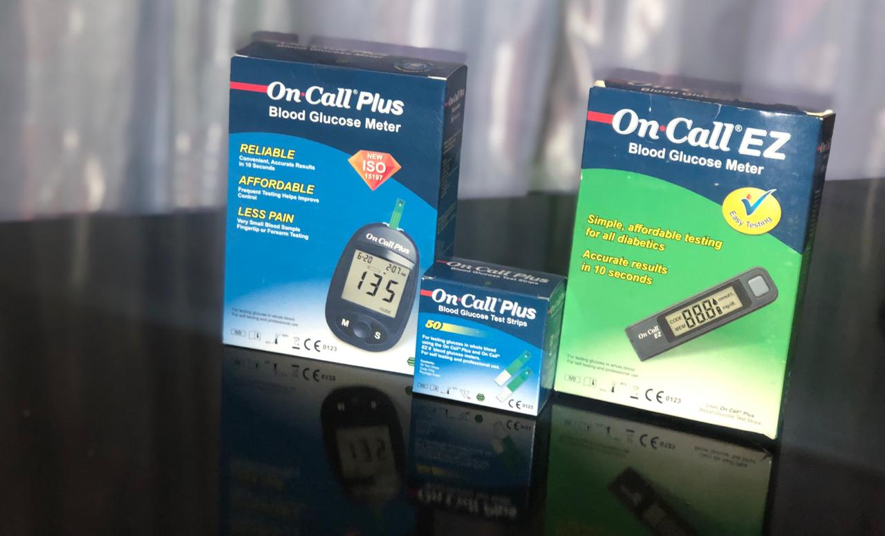 Diabetic Glucose meters availble