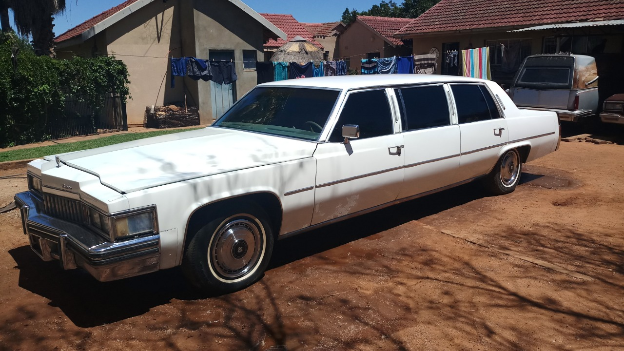 1978 Cadillac limousine
