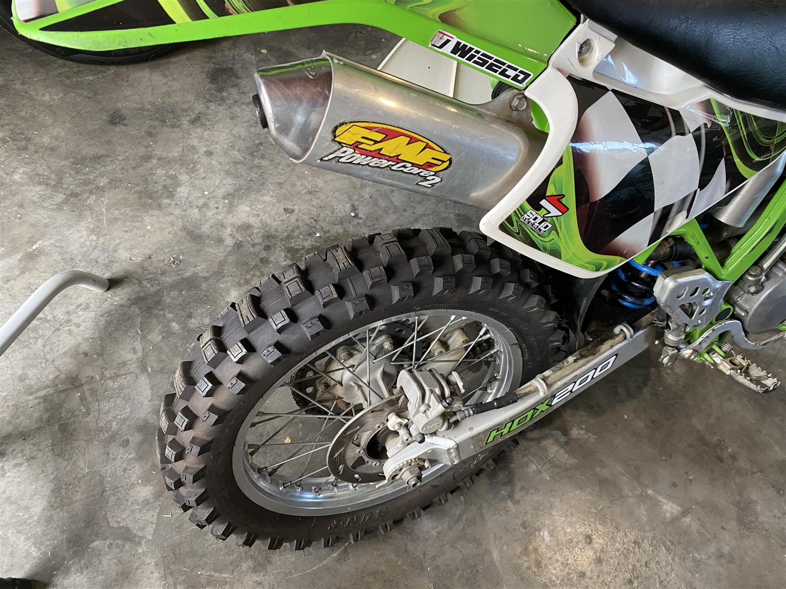1995 Kawasaki KDX200H