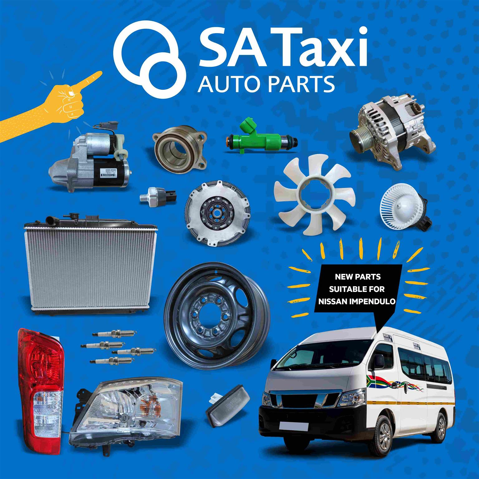 NEW FUEL INJECTOR suitable for Nissan NV350 Impendulo - SA Taxi Auto Parts quality spares