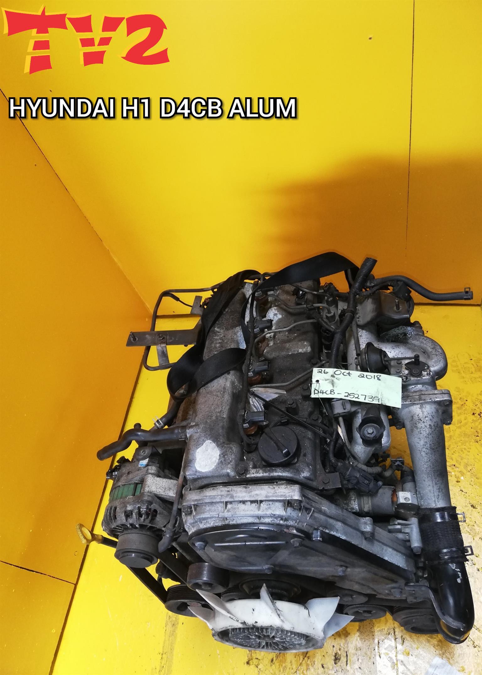 HYUNDAI- H1 D4CB ALUMINUM TOP (ENGINE FOR SALE)
