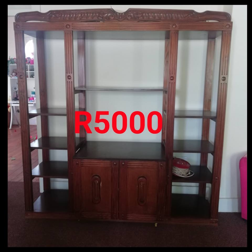 Vintage wooden wall unit for sale
