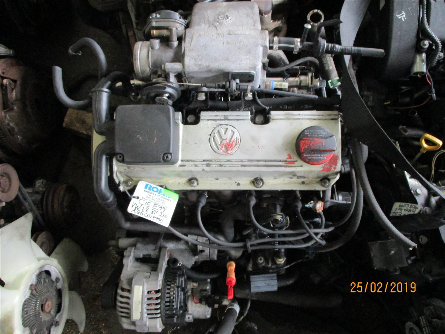 VW Golf 1 8 8V engine for sale