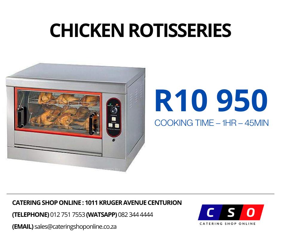 Chicken Rotisseries Electric