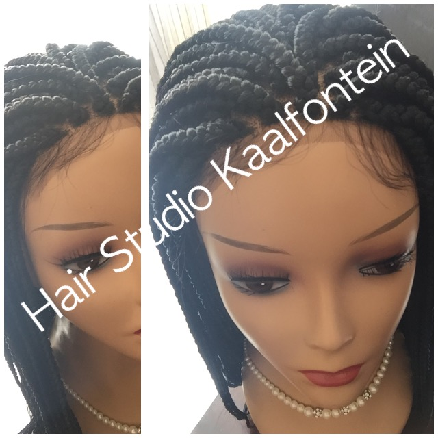 BEAUTIFUL LACE FRONTAL BRAID WIG 0610713569