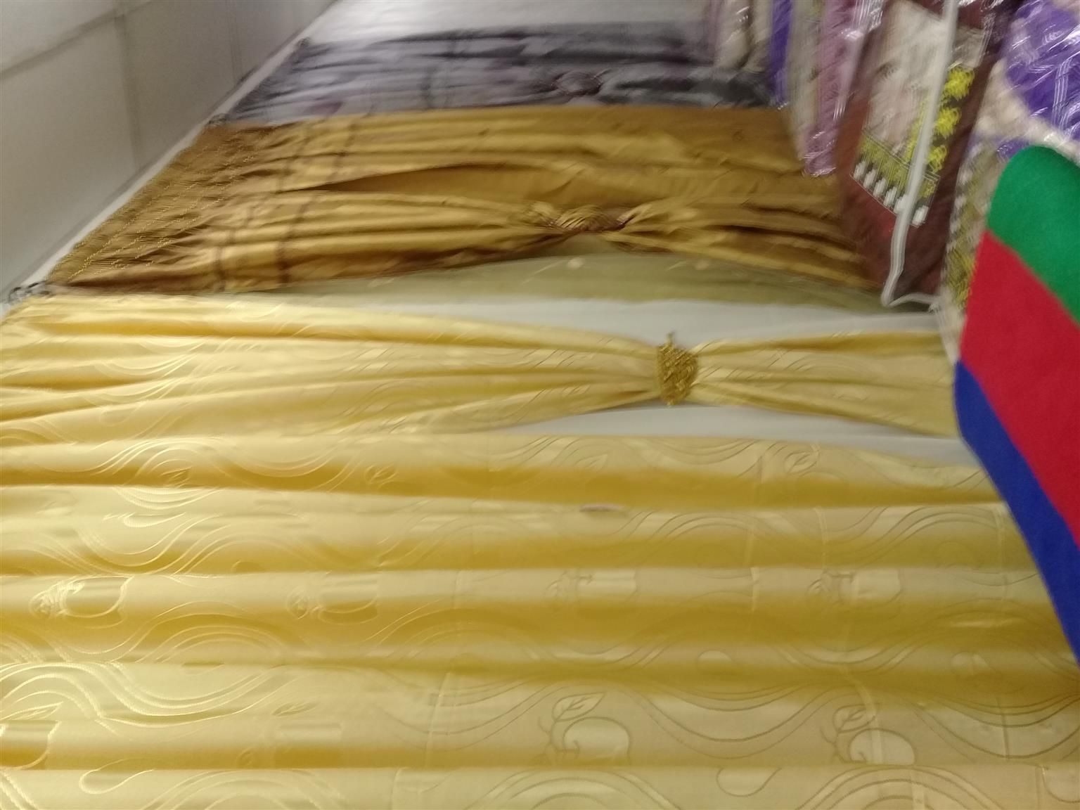 Bafana Bafana 29a 3rd street springs town cell 0839696735 or 0118152605 Retail and wholesale,Curtains,bedspread,comforters,blankets,sheets,Std pillows,curtain rails,mam dress, etc