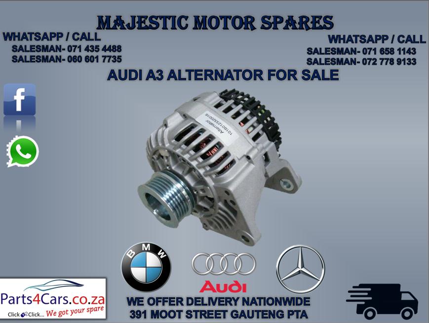 Audi A3 alternator for sale