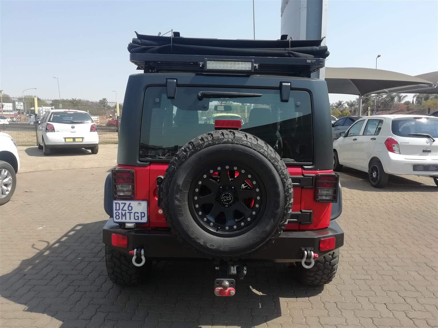 2015 Jeep Wrangler 3.6L Rubicon
