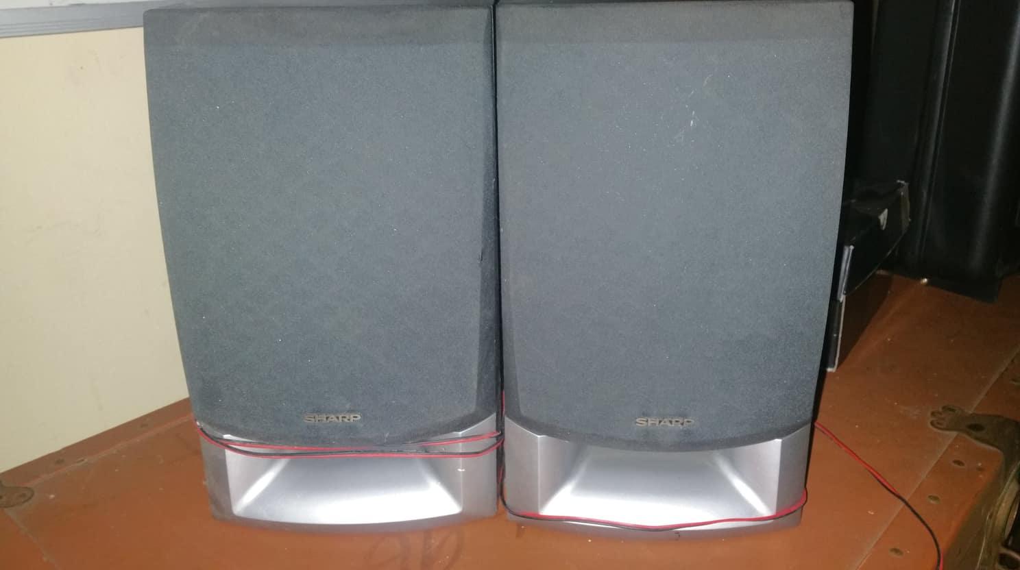 Sharp Speakers - Bookshelf type