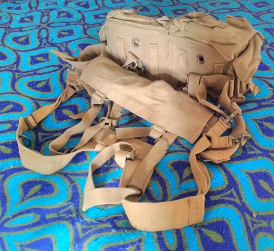 SADF pattern 70 webbing kit.