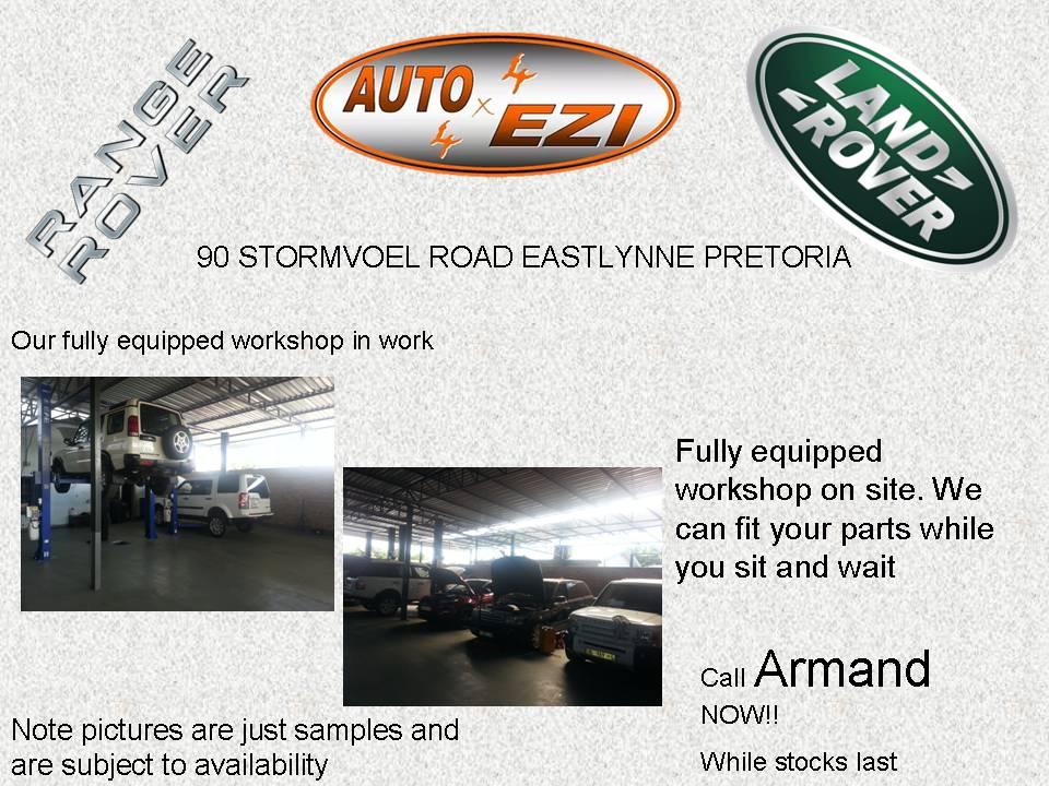 Range Rover Sport Basic Service