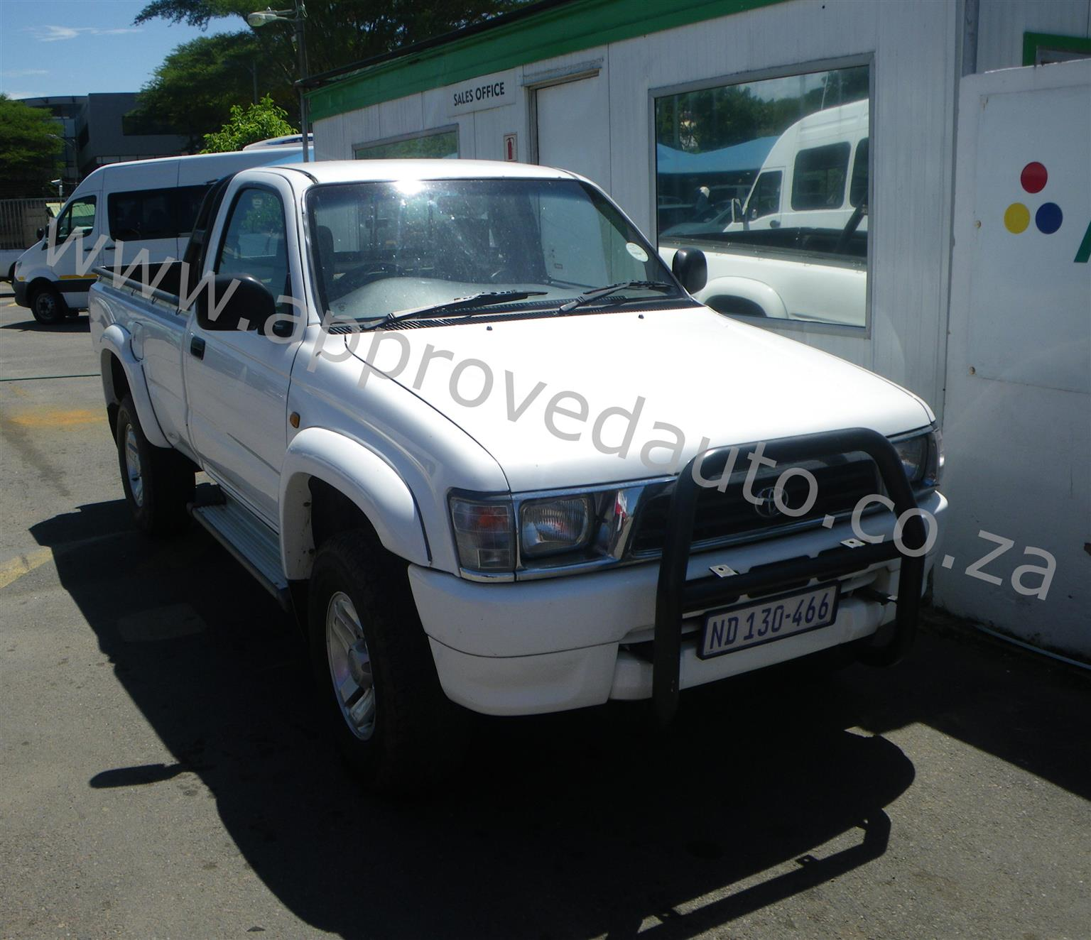 2001 Toyota Hilux 3.0D 4D Raider