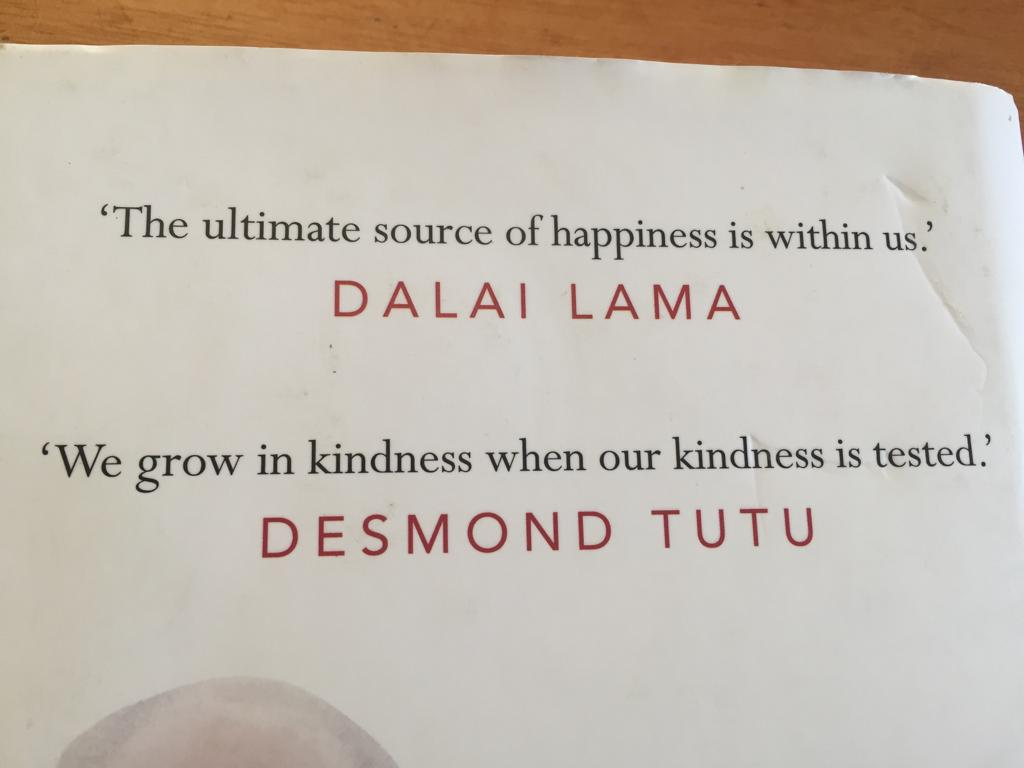 The Book Of Joy by The Dalai Lama and Archbishop Desmond Tutu in Hardcover