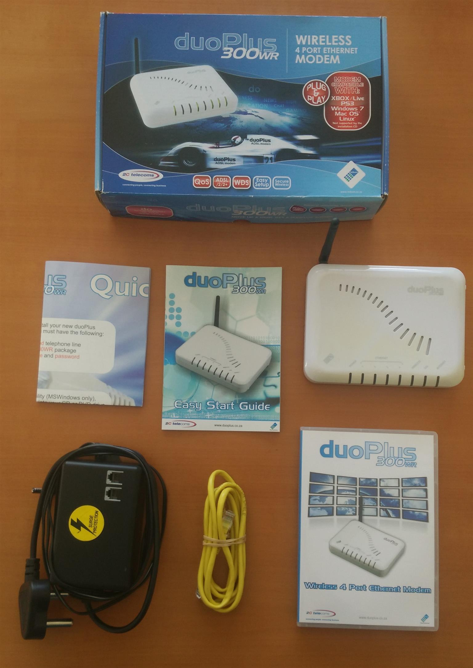 ADSL Modem and Router DuoPlus 300WR