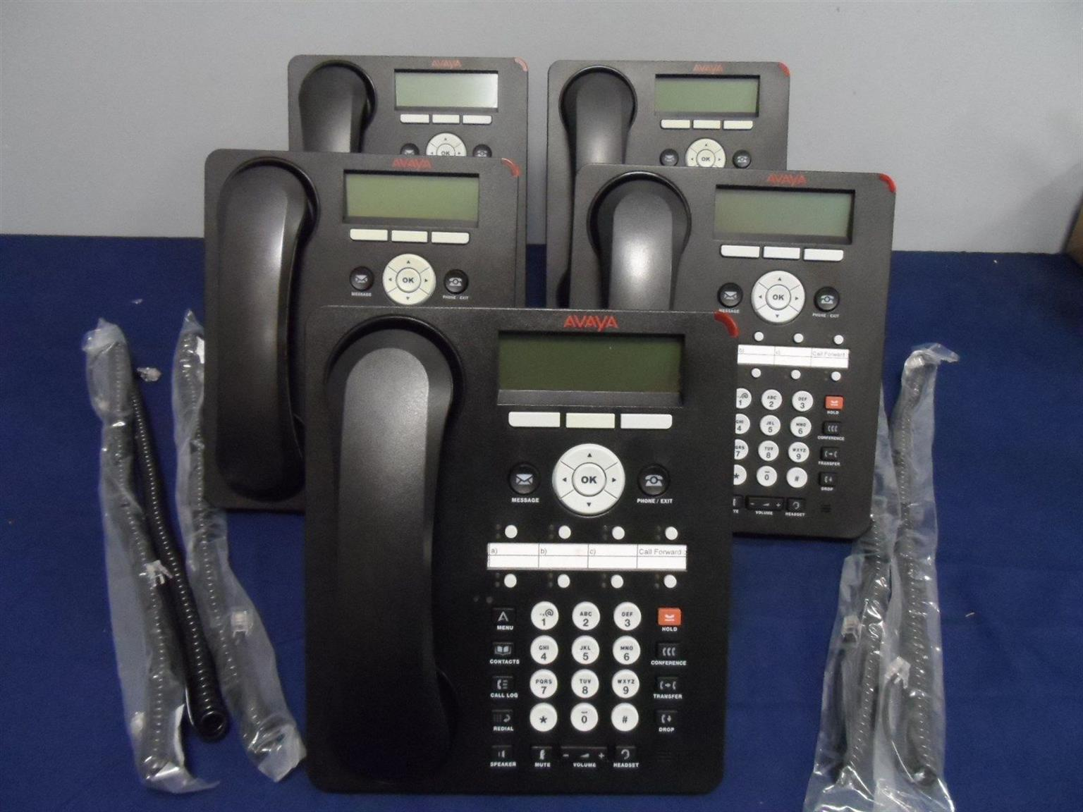 Avaya 1608-i VoIP Phones for sale | Used ones with POE(Power Over Ethernet)  for R400 each NEGOTIABLE