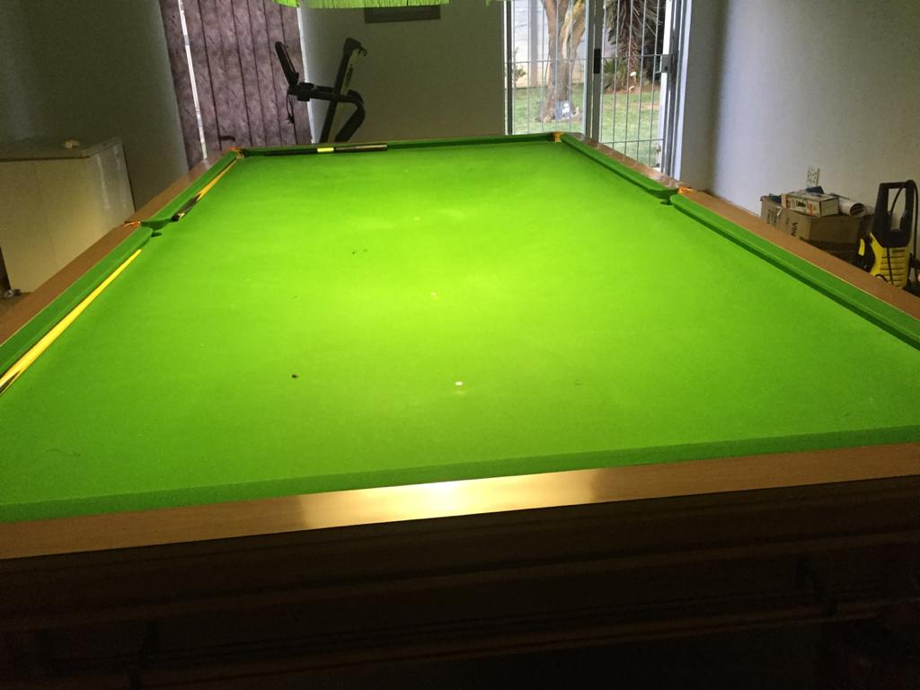 Championship full size snooker table